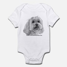 Sadie, Maltese Infant Bodysuit