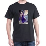 'Merlin' Black T-Shirt