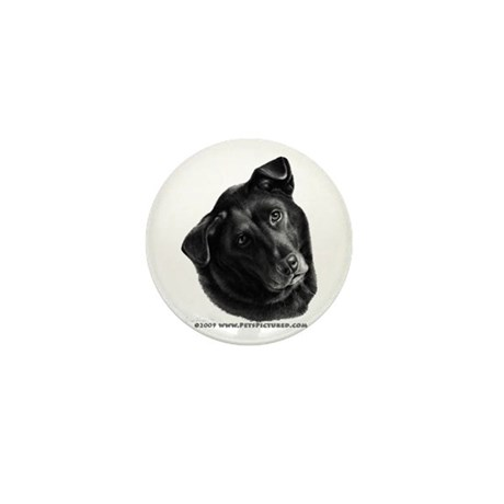 Corvis, Black Lab Mix Mini Button (10 pack)