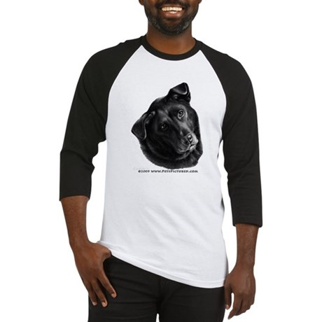 Corvis, Black Lab Mix Baseball Jersey
