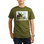 OUR FIRST TEACHER Organic Men's T-Shirt (dark)