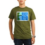 THE ROAD AHEAD Organic Men's T-Shirt (dark)