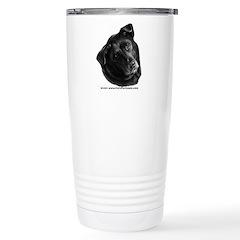 Corvis, Black Lab Mix Travel Mug