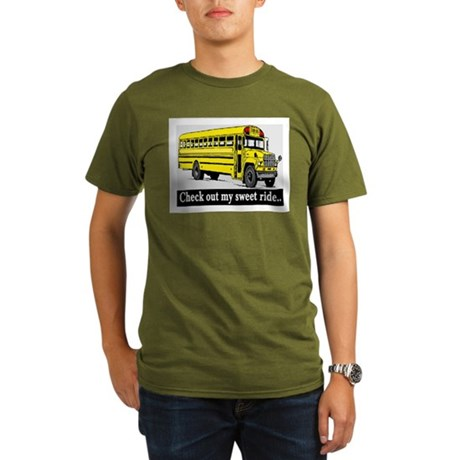 CHECK OUT MY SWEET RIDE Organic Men's T-Shirt (dar