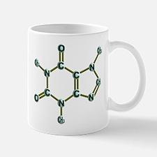 Caffeine Molecule Coffee Cup