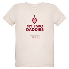 T-Shirt - I Heart My Two Daddies