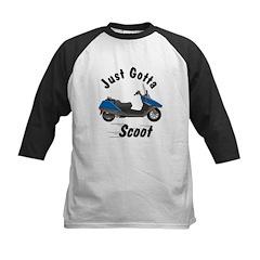 Just Gotta Scoot Helix Kids Baseball Jersey