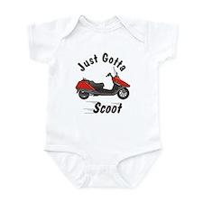 Just Gotta Scoot Helix Infant Creeper