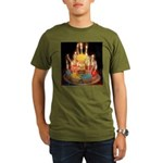 16th Birthday Gifts, 16 Organic Men's T-Shirt (dar