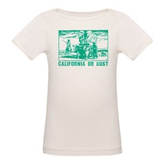 California Or Bust Tee