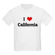 I Love California T-Shirt