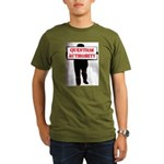 QUESTION AUTHORITY Organic Men's T-Shirt (dark)