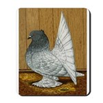Indian Fantail Pigeon Mousepad
