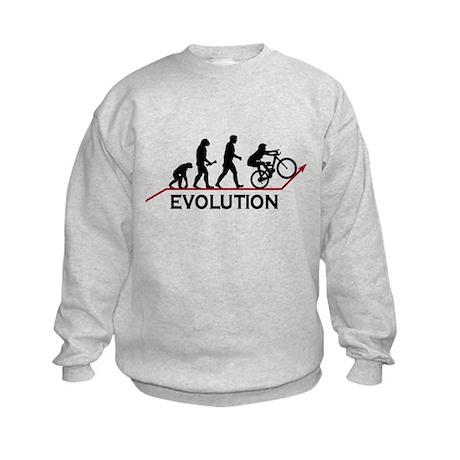 Mountain Bike Evolution Kids Sweatshirt