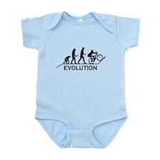Mountain Bike Evolution Infant Bodysuit