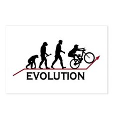 Mountain Bike Evolution Postcards (Package of 8)