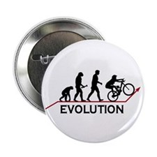"Mountain Bike Evolution 2.25"" Button (100 pack)"