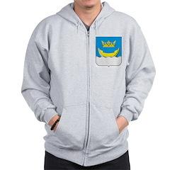 Helsinki Coat Of Arms Zip Hoodie