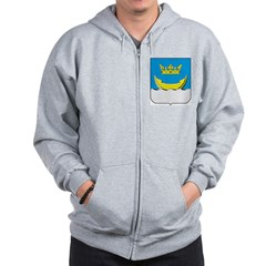 Helsinki Coat Of Arms Zip Hoodie