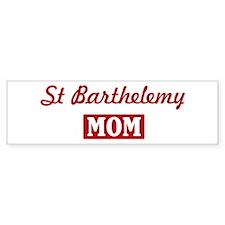 St Barthelemy Mom Bumper Bumper Sticker