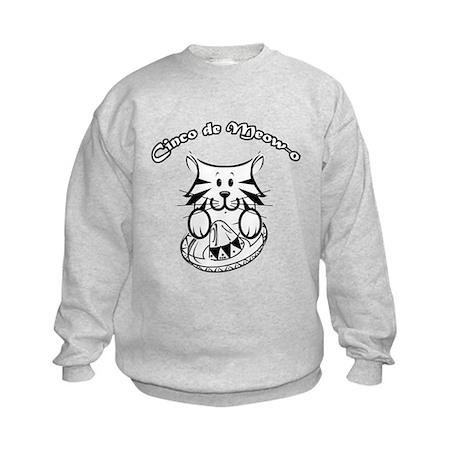 Cinco de Meow-o Kids Sweatshirt