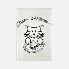 Cinco de Meow-o Rectangle Magnet