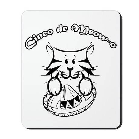 Cinco de Meow-o Mousepad