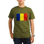 Armenia Flag Organic Men's T-Shirt (dark)