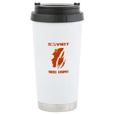 Soviet Red Army Soldier Travel Mug