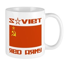 Soviet Red Army Flag Mug