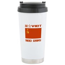 Soviet Red Army Flag Travel Mug