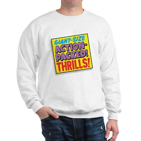 Action-Packed Thrills Sweatshirt