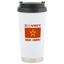 Soviet Red Army Star Travel Coffee Mug