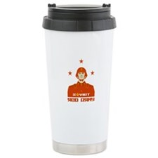 Soviet Red Army Soldier Travel Coffee Mug