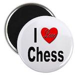 I Love Chess Magnet