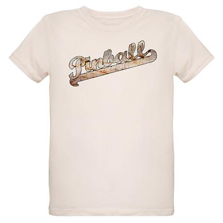 Vintage Bronze Pinball Organic Kids T-Shirt