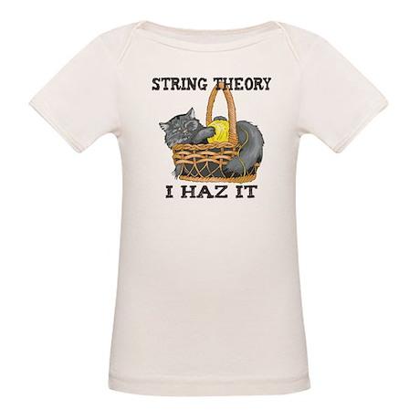 Physics String Theory Organic Baby T-Shirt