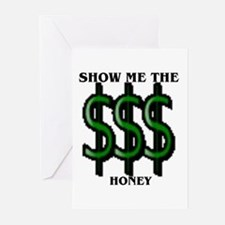 money Greeting Cards