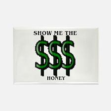 Money Rectangle Magnet