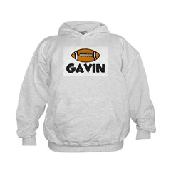 Gavin Football Hoodie