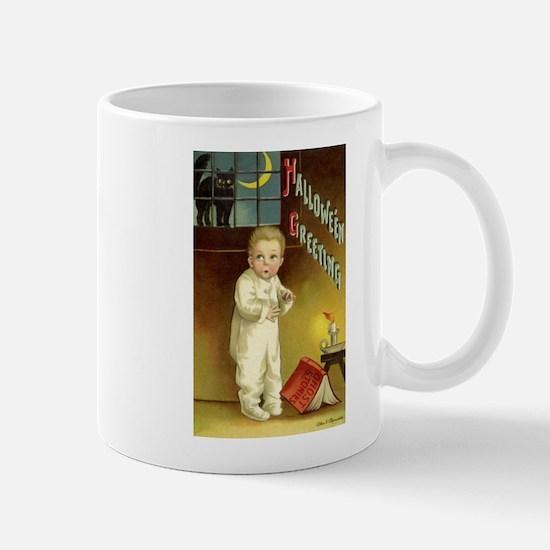 Vintage Halloween Greetings Mug