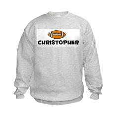 Christopher - Football Sweatshirt