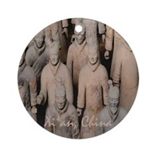 Xi'an Terra-Cotta Warriors - Holiday Ornament