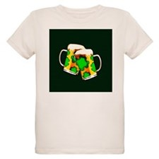 Shamrock Beer Mugs T-Shirt