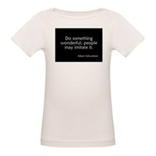 Albert Schweitzer Quote Tee