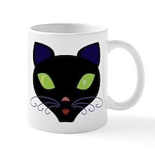 Night Cat Vector Mug