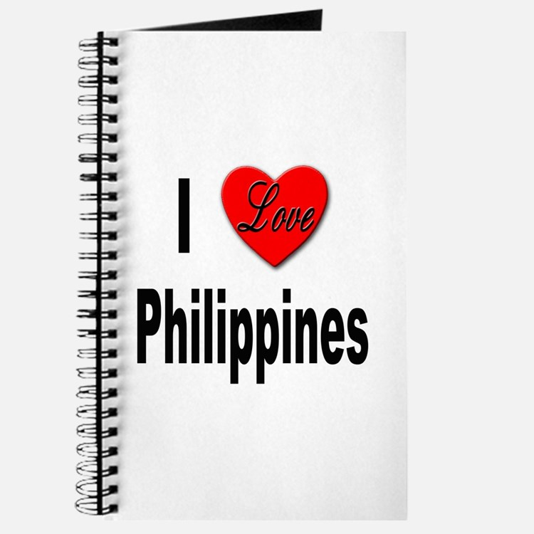 I Love Philippines Journal