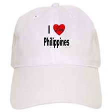 I Love Philippines Baseball Cap