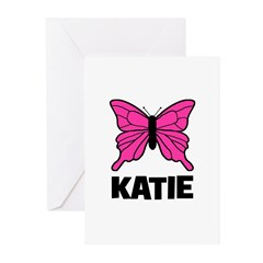 KATIE - Butterfly Greeting Cards (Pk of 20)