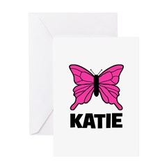 KATIE - Butterfly Greeting Card